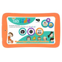 Tablet Tab Kids DL, 7'', 8GB, Branco - TP264BLJ