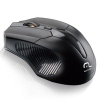 Mouse Sem Fio Wireless Multilaser, 1600 dpi - MO221