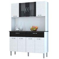 Cozinha Compacta Kit's Paraná Pan, 8 Portas, 2 Gavetas
