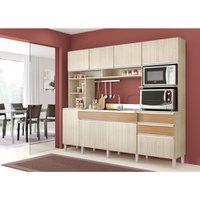 Cozinha Compacta Decibal Essence, 8 Portas, 2 Gavetas - 8011