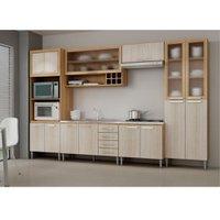 Cozinha Compacta Fellicci Style, 14 Portas, 4 Gavetas - 07