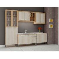 Cozinha Compacta Fellicci Style, 12 Portas, 4 Gavetas - 08