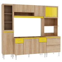 Cozinha Compacta Fellicci Tropical, 12 Portas, 2 Gavetas - 01