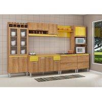 Cozinha Compacta com Tampo Fellicci Tropical, 16 Portas, 2 Gavetas - 04