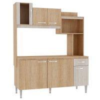 Cozinha Compacta com Tampo Fellicci Angel, 6 Portas, 1 Gaveta - CC90T