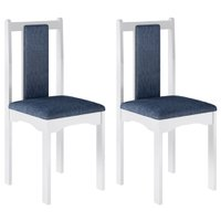 Kit com 2 Cadeiras Art in Móveis Veneza - CD1200