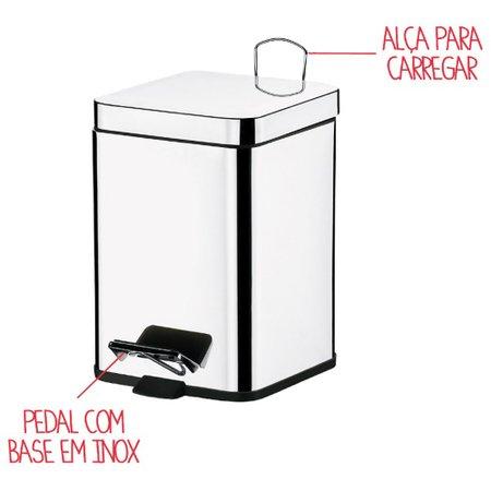 Lixeira Brinox 3047/100