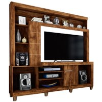 Estante Home Theater Caemmun Platina