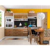 Cozinha Compacta Madesa Glamy Antonella, 8 Portas, 2 Gavetas - G20150506E