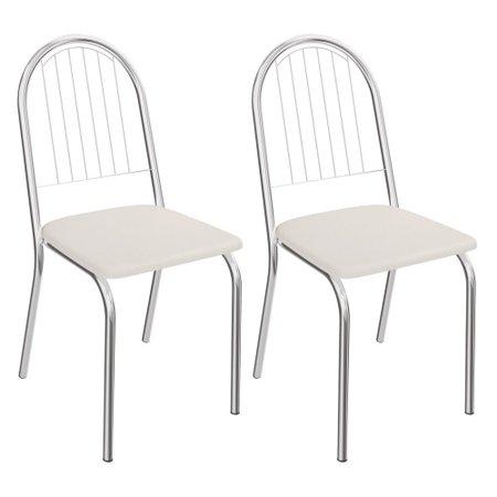 Kit com 2 Cadeiras Kappesberg Noruega - 2C077CR