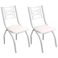 Kit 2 Cadeiras Kappesberg Itália - 2C018CR