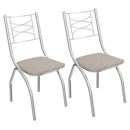 Kit 2 Cadeiras Kappesberg Itália 2C018CR