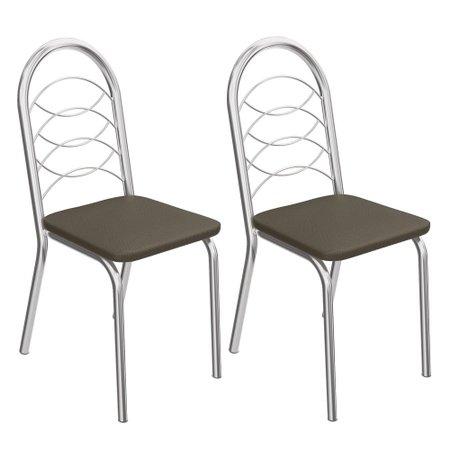 Kit 2 Cadeiras Kappesberg Holanda 2C009CR