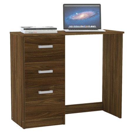 Mesa para Computador Politorno Palmas, 3 Gavetas - 150263