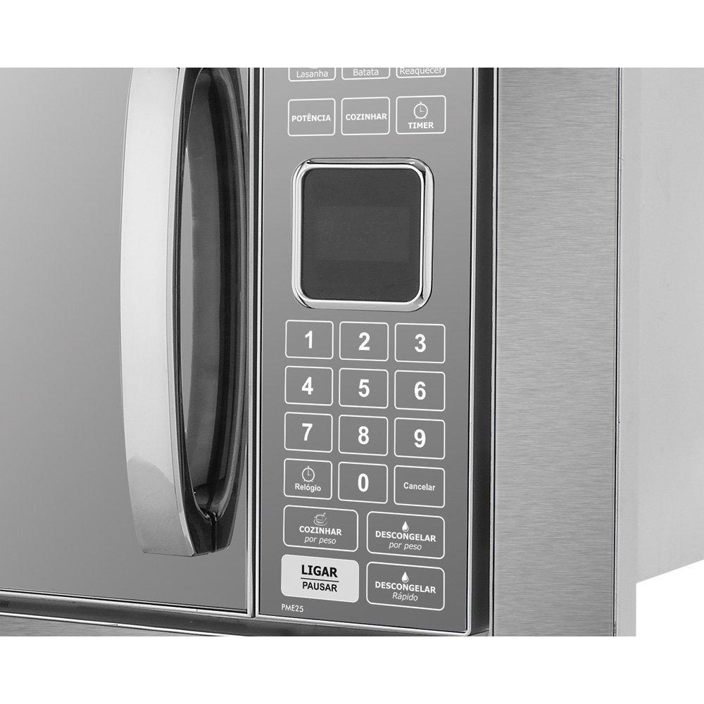 b520d6e01 Micro-ondas de Embutir Philco 25 Litros - PME25BM - Colombo