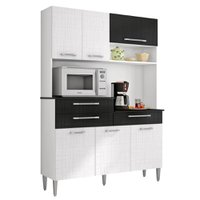 Cozinha Compacta Orion Kits Paraná, 6 Portas, 3 Gavetas