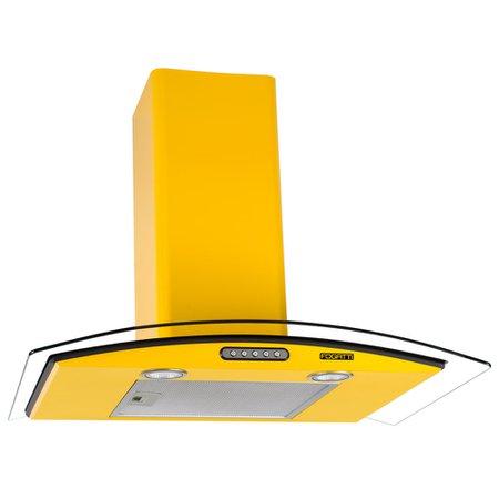 Coifa Fogatti CVC70 amarela