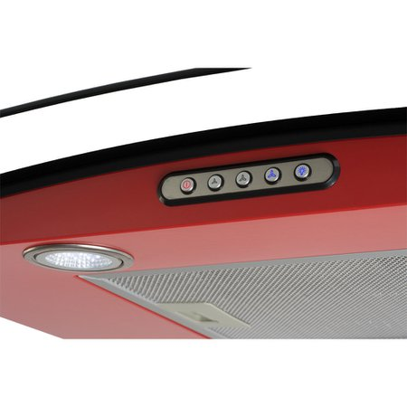 Coifa Fogatti CVC70 vermelha