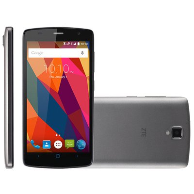 Celular Smartphone Zte C341 4gb Preto Oi - Dual Chip