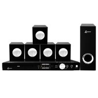 Home Theater DVD Lenoxx, USB, Karaokê, 270W RMS - HT723