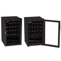 Adega 24 Garrafas Venax, 1 Porta, Controlador Digital, Preta - ANGV100