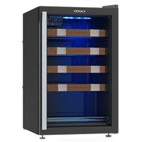 Adega 24 Garrafas Venax, 1 Porta, Controlador Digital, Preta - APCCL100