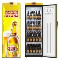 Cervejeira Venax, 1 Porta, 209 Litros, Controlador Touch, Amarela - EXPM200