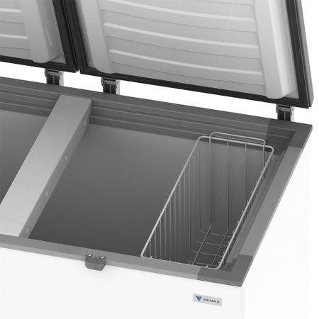 Congelador Venax Branco CHDM 400