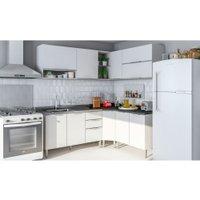 Cozinha Compacta Caemmun Salsa, 10 Portas, 3 Gavetas