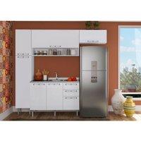 Cozinha Compacta Art in Móveis Mia Coccina 16, 6 Portas, 3 Gavetas