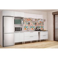 Cozinha Compacta Art in Móveis Mia Coccina 02, 8 Portas, 2 Gavetas