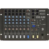 Mesa de Som 8 Canais Estéreo MXS8SD Preto Ciclotron - 56889