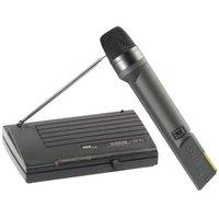 Microfone sem Fio VHF655 Preto SKP - 43700