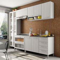 Cozinha Compacta THB Gourmet, 8 Portas, 6 Gavetas - 12