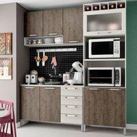 Cozinha Compacta THB Gourmet, 8 Portas, 4 Gavetas - 03