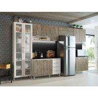 Cozinha Compacta THB Gourmet, 12 Portas, 4 Gavetas - 02