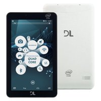 Tablet DL X-Quad Pro, 8GB, Wi-Fi, Bluetooth, Branco - TX-325BRA