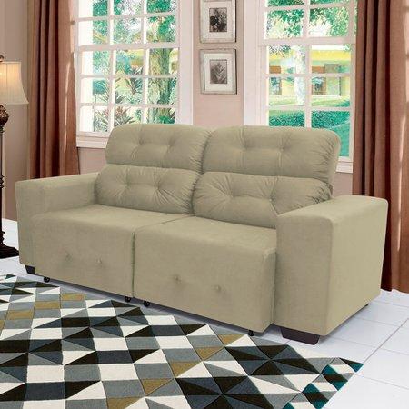 Sofá 2 Lugares Retrátil e Reclinável Linoforte Prince