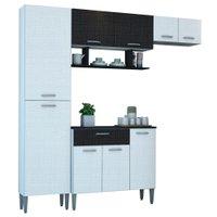 Cozinha Compacta Kit's Paraná Cris WM, 9 Portas, 1 Gaveta
