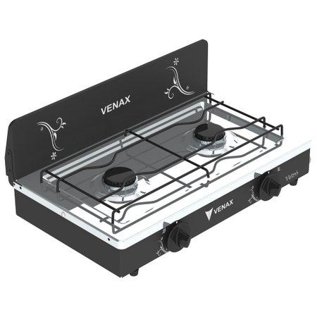 Fogão Gás de Mesa Venax FMV200 Preto