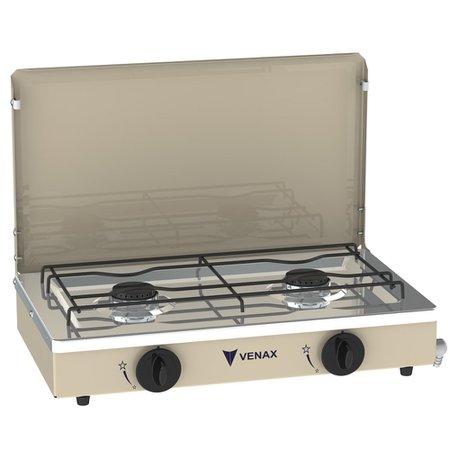 Fogão Gás de Mesa Venax FMV200 Bege