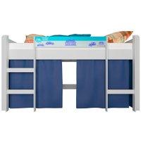 Cama de Solteiro Infantil Elevada Completa Móveis - BB870