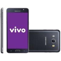 Smartphone Samsung Galaxy J5 Duos, 16GB, 13MP, 4G, Preto, Vivo - J500