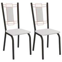 Kit 2 Cadeiras Kappesberg Florença - 2C078PRF