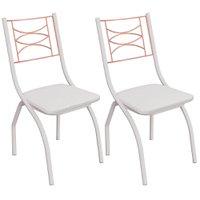 Kit 2 Cadeiras Kappesberg Itália - 2C080BFR