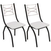 Kit 2 Cadeiras Kappesberg Itália - 2C080PRF