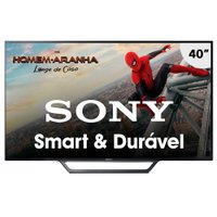 Smart TV LED 40'' Sony, 2 HDMI, 2 USB, com Wi-Fi - KDL-40W655D