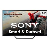 Smart TV LED 48'' Sony, 2 HDMI, 2 USB, com Wi-Fi - KDL-48W655D