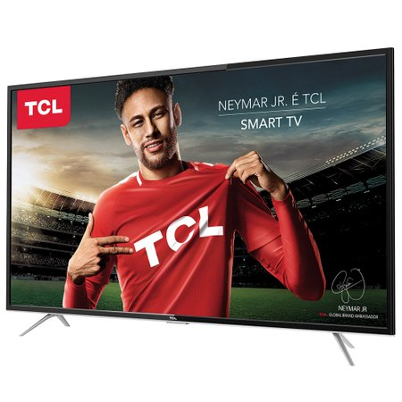 Smart TV LED 32 TCL, 3 HDMI, 2 USB, com Wi-Fi - L32S4900S
