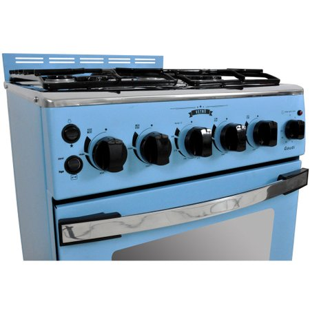 Fogão a Gás Venax Azul GDVT451